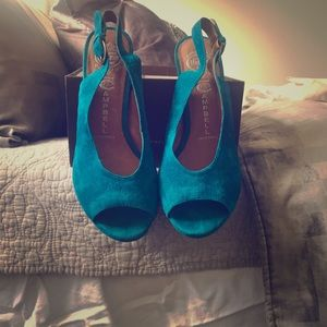 Blue suede shoes!!!